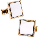 Ravi Ratan Men's Two Tone Square Cufflinks
