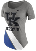 Nike Women's Kentucky Wildcats Tri-Blend Scoop T-Shirt