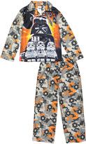 Orange & Black Lego Star Wars Pajama Set - Boys