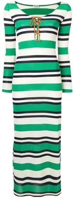 Miu Miu Multicolour Polyester Dresses