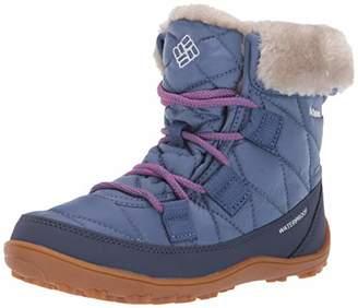 Columbia Unisex-Kid's Youth Minx Shorty Omni-Heat Waterproof Snow Boot