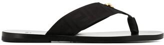 Versace Greca flip flops