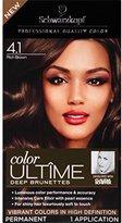 Schwarzkopf Ultime Hair Color Cream, 4.1 Rich Brown, 2.03 Ounce