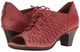 Rockport Cobb Hill Collection - Cobb Hill Spencer Perforated Lace-Up Women's Toe Open Shoes