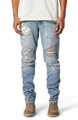 Hudson Blinder Biker Ripped Skinny Fit Jeans