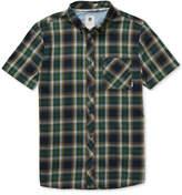 Element Men's Buffalo Plaid Button-Down Shirt
