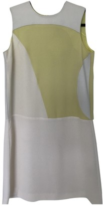 Raoul Yellow Silk Dress for Women