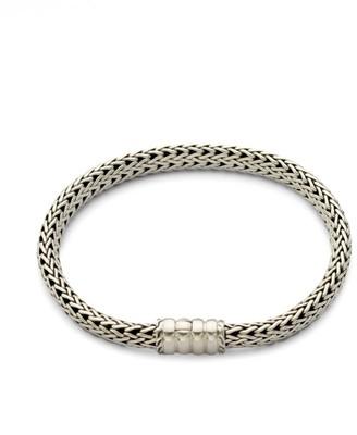John Hardy Bedeg Sterling Silver Small Chain Bracelet