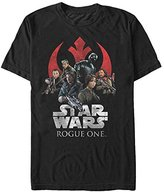 Star Wars Men's Rogue One Classic Rebellion Graphic T-Shirt