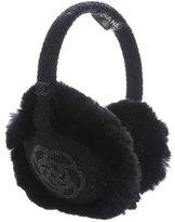 Chanel Camellia Rabbit Fur Earmuffs