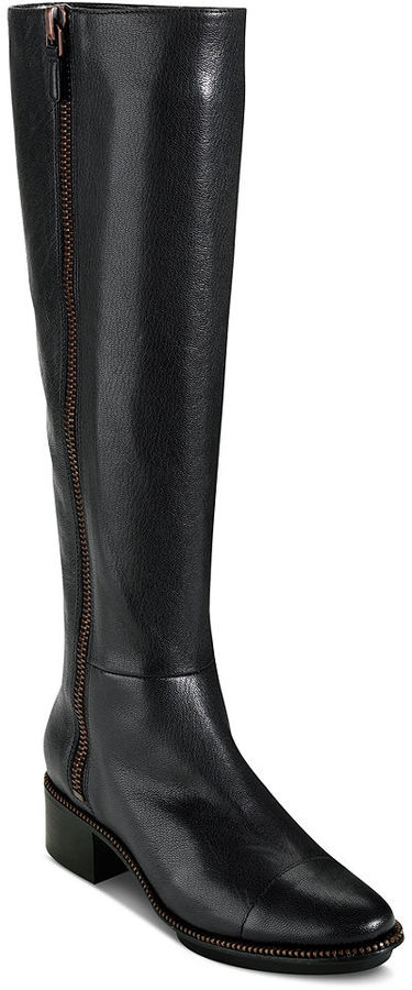 Cole Haan Women's Shoes, Hollis Tall Shaft Riding Boots