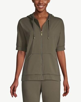 Zenergy Cropped Short-Sleeve Hoodie