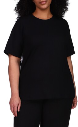 MICHAEL Michael Kors Logo Tape Thermal T-Shirt
