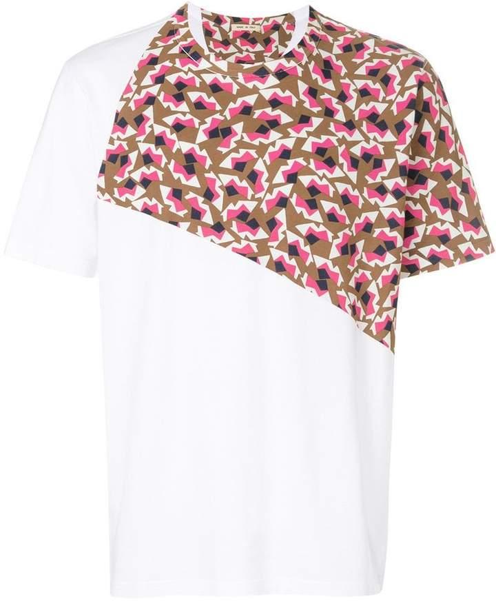 Marni geometric panel T-shirt