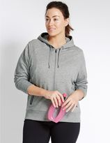 Marks and Spencer PLUS Sporty Hooded Sweatshirt