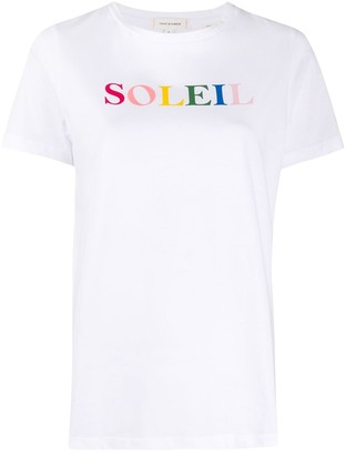 Chinti and Parker Soleil printed T-shirt