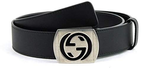 Gucci Men's Leather Interlocking G Belt 387031 2140 (105/42)