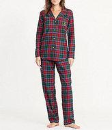 Lauren Ralph Lauren Plaid Twill Classic Pajamas