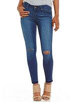 William Rast Release Hem Destructed Skinny Ankle Jeans