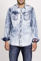 Cult of Individuality Clint Denim Slim Modern Fit Shirt