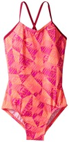 Nike Graphic Crossback One-Piece Swimsuit Girl's Swimsuits One Piece