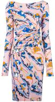 Emilio Pucci floral print fitted dress