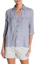 James Perse Button-Up Linen Shirt