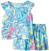Lilly Pulitzer Opal Set Girl's Active Sets