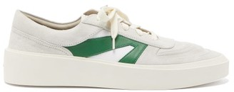 Fear Of God Raised-sole Canvas, Leather And Suede Trainers - White Multi