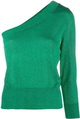 FEDERICA TOSI One Shoulder Fitted Jumper