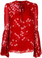 Giambattista Valli strawberry print blouse - women - Silk - 42