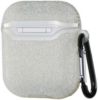 Posh Tech Glitter Bling Case for Airpods 1 & 2 - White