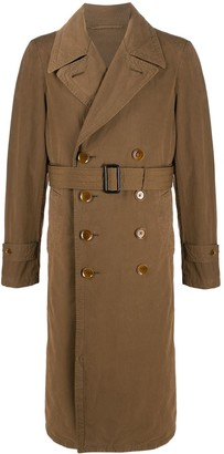 Lemaire Double-Breasted Trench Coat