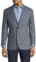 Brooks Brothers Wool Glen Plaid Notch Lapel Sportcoat