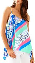 Lilly Pulitzer Alora Silk Top