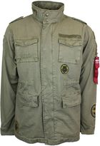 Men's Alpha Industries Huntington Field Jacket With Patches