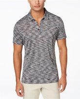 Alfani Men's Short-Sleeve Marled Polo, Only at Macy's