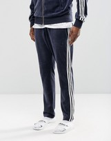 Adidas Originals Archive Velour Slim Joggers Ay9244