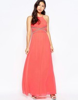 Lipsy Maxi Cami Dress with Applique Detail