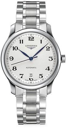 Longines Master Stainless Steel Bracelet Watch