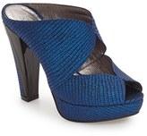Adrianna Papell Women's 'Garret' Open Toe Platform Mule