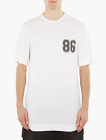Helmut Lang White Oversized Cotton T-shirt