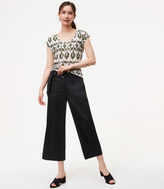 LOFT Belted Culottes