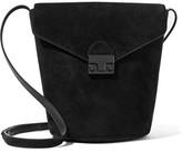 Loeffler Randall Suede Bucket Bag - Black
