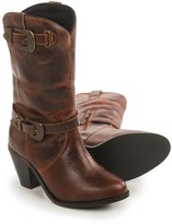 Dingo Nelly Cowboy Boots - Leather, Round Toe (For Women)