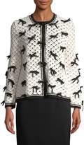 Oscar de la Renta Women's Cashmere Blouson Sweater