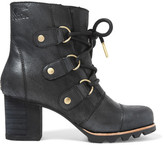 Sorel Addington Waterproof Nubuck Boots - Black
