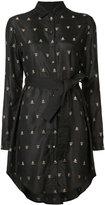 Maiyet embroidered shirt dress - women - Silk/Cotton - 000