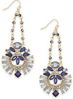 INC International Concepts I.N.C. Gold-Tone Multi-Crystal Swing Chandelier Earrings, Created for Macy's