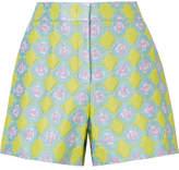 Emilio Pucci Jacquard Shorts - Yellow